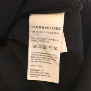 Warehouse Skirts - Asos Warehouse Black Denim Skirt (Size 6)